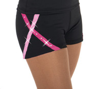 456 X-Bling Ice Skating Shorts Pink
