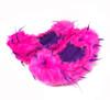 Crazy Fur Soakers CF02 - Hot Pink and Purple Crazy Fur