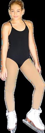 ChloeNoel BL05 Bodywear Sleeveless Stripes Leotard