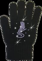 ChloeNoel Ice Skating Gloves - GV22-BB/Skate Crystals