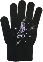 ChloeNoel Ice Skating Gloves - GV22-BB/Skate Crystals