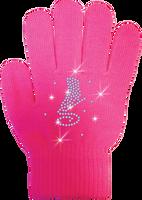 ChloeNoel Ice Skating Gloves - GV22-FS/Skate Crystals
