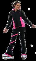 ChloeNoel J06 2Tone Princess Seam Figure Skating Jacket