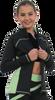 ChloeNoel J06 2Tone Princess Seam Figure Skating Jacket 2nd view