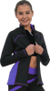 ChloeNoel J06 2Tone Princess Seam Figure Skating Jacket 3rd view