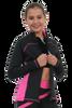 ChloeNoel J06 2Tone Princess Seam Figure Skating Jacket 5th view