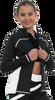 ChloeNoel J06 2Tone Princess Seam Figure Skating Jacket 8th view