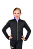 ChloeNoel J48 Color Zipper Fitted Figure Skating Jacket 6th view
