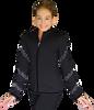 ChloeNoel JS96 Crystal Spiral Figure Skating Jacket 3rd view