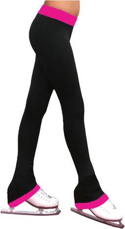ChloeNoel P04 Skate Figure Skating Pants With 2 Inch Waist