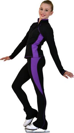 ChloeNoel PS08 Supplex Rider Style Figure Skating Pants