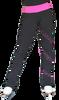 ChloeNoel PS96 Crystal Spiral Figure Skating Pants