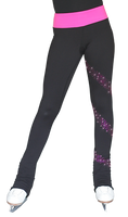 ChloeNoel PS96 Crystal Spiral Figure Skating Pants