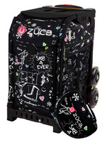 Zuca Sport Bag - Sk8 Black (Limited Edition)