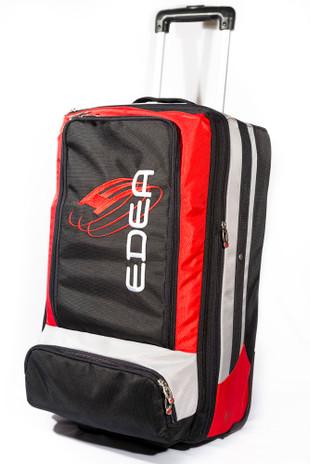 EDEA Skate SUPER Rolling Trolley - 2 Pair Bag (Black)