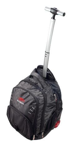 EDEA Skate Rolling/BackPack Trolley Bag (Black)