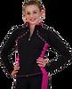 ChloeNoel JS08 Supplex Rider Style Figure Skating Jacket