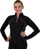 ChloeNoel JS08 Supplex Rider Style Figure Skating Jacket 2nd view