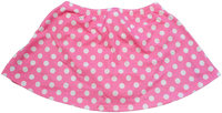 ChloeNoel K01 Aline Skate Skirt FUCHSIA DOT (ADULT SMALL)(30% OFF)