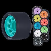 Riedell Skates Radar Halo 59mm Indoor Skate Wheels (Set of 4