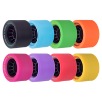 Riedell Skates Sonar Demon EDM 62mm Indoor Skate Wheels (Set of 4)
