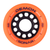 Riedell Skates Sonar Demon EDM 62mm Indoor Skate Wheels (Set of 4) 5th view