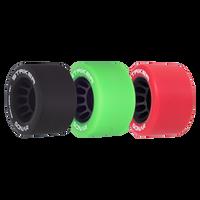 Riedell Skates Sonar Striker 62mm Indoor Skate Wheels (Set of 4)