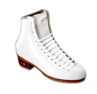 Ice Skates Riedell 320 Adult White Size 4 1/2 A/AA Boot Only 2011 Model - 30% OFF (discontinued)