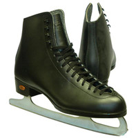 Ice Skates Riedell J75 Kids Black Size 3 D/C Boot Only - 30% OFF (refurbished)