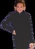 ChloeNoel JT811 Solid  Fleece Fitted  Elite Figure Skating Jacket w/ Thumb Holes