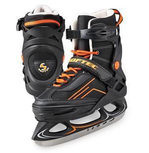 Ice Skates Vibe Adjustable XP1000 - Orange