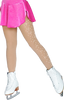 ChloeNoel Footed Ice Skating Tights 8830  with Crystals 2nd view