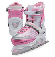 Ice Skates Vibe Adjustable XP1000 - Pink