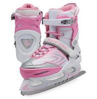 Ice Skates Vibe Adjustable XP1000 - Pink