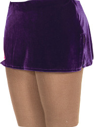 515 Jerry's   Velvet Box Skirts - Purple