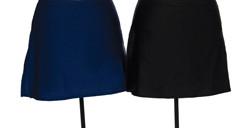 516 Jerry's  Lycra Box Skirts - Black