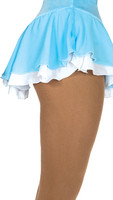 305 Jerry's Double Georgette Skirt - Blue/White