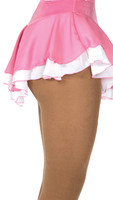 305 Jerry's Double Georgette Skirt - Pink/White