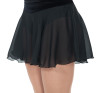 315 Jerry's Classic Black Georgette Skirt