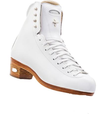 Riedell Model 2200 Synchro Ladies Ice Skates (White)