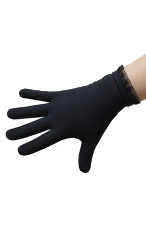 Icedress- Thermal Figure Skating Gloves with Flounce