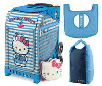 7996ae691d Zuca Sport Bag - Hello Kitty Sail with Me with Gift Stuff Sack and Seat  Cover (Blue Frame)