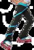 ChloeNoel P636F Spiral Light Weight Fleece Figure Skating Pants 3rd view