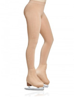 Mondor 912 Rhinestones Boot Cover Figure Skating Tights