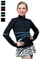 Chloe Noel Figure Skating Swirls Figure Skating Jacket J37