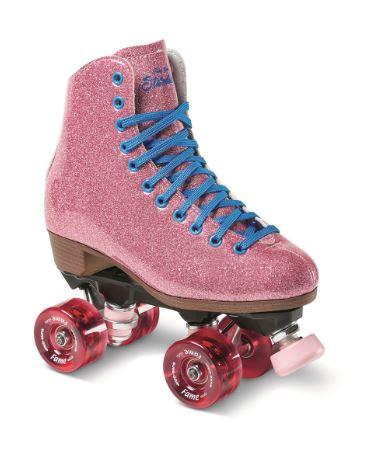 Sure-Grip Quad Roller Skates - STARDUST (Fame Wheels)