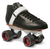 Sure-Grip Quad Roller Skates - Phoenix Avenger Magnesium (Mens sizes)