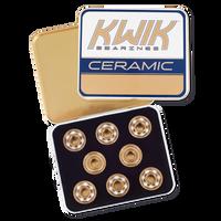 Riedell KwiK Ceramic Bearings (Set of 16)