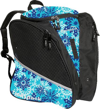 Transpack Ice with Print Design  (Aqua Snowflake)