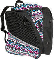 Transpack Ice with Print Design  (White/Pink/Aqua Aztec)